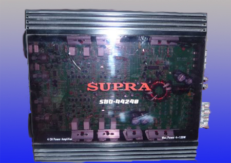 усилитель: Supra SBD-A4240