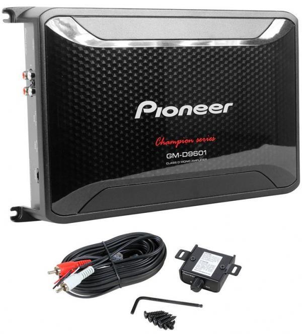Автомобильный усилитель (1 канал) Pioneer GM-D8601 - фото 2